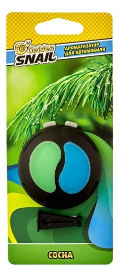 Ароматизатор на дефлектор двухцветный в блистере (сосна)
